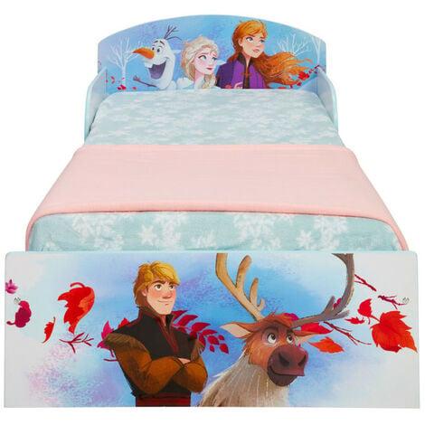 Lit enfant bois et métal La Reine des Neiges 2 Disney
