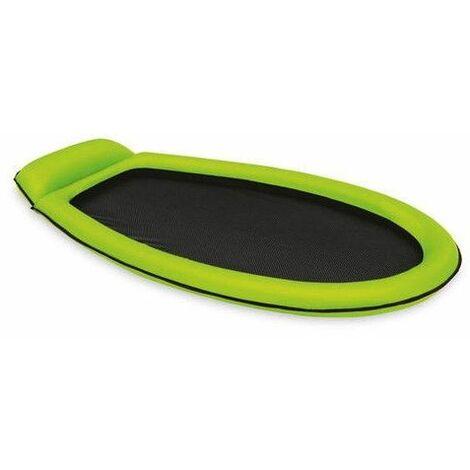 Lit gonflable pour 1 personne - 179 x 94 cm - Vert clair - Livraison gratuite