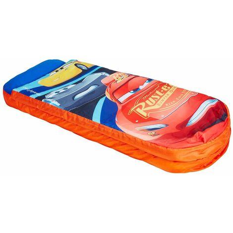 Lit gonflable pour enfants avec sac de couchage intégré Disney Cars - Dim : H.62 x L.150 x P.20cm -PEGANE-