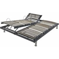Adjustable bed bases for relaxation