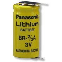 Lithium battery BR-2/3AE2SPN 3V 1.2Ah 3PF