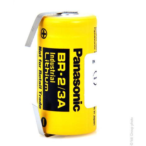 Lithium battery BR2/3A 3V 1.2Ah T2