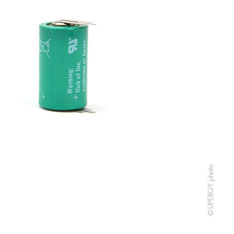 Lithium battery CR1/2AA PCBS 3V 950mAh P2