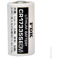 Lithium battery CR17335SE 2/3A 3V 1.8Ah