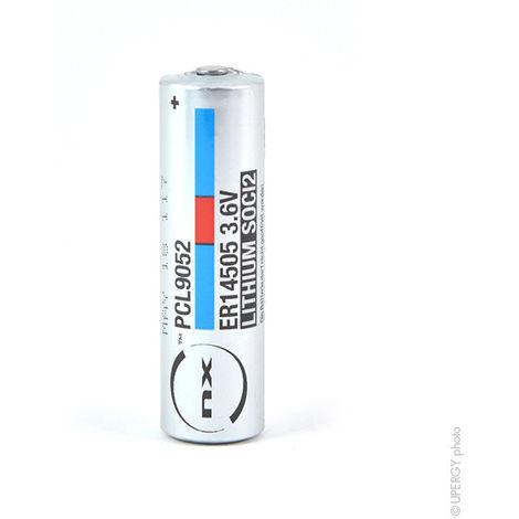 Lithium battery ER14505H AA 3.6V 2.7Ah