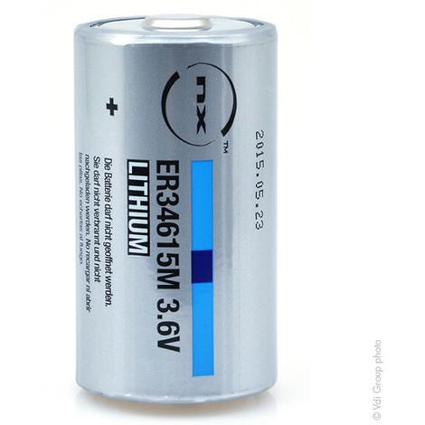 Lithium battery ER34615M D 3.6V 14.5Ah
