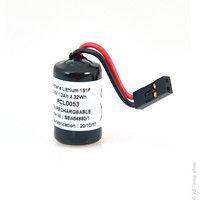 Lithium battery LS14250 1/2AA 3.6V 1.2Ah Berg