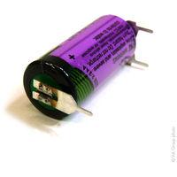 Lithium battery SL-761/PT 2/3AA 3.6V 1.5Ah 3PFR