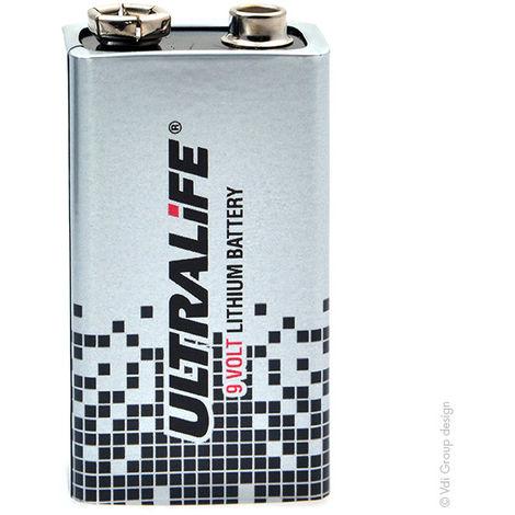 Lithium battery U9VLJPFP 9V 1.2Ah