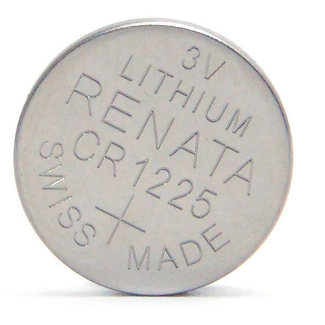 Lithium button cell (blister) CR1225 RENATA 3V 48mAh