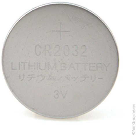 Lithium button cell (blister) CR2032 3V 225mAh