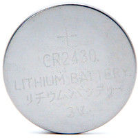 Lithium button cell (blister) CR2430 3V 280mAh