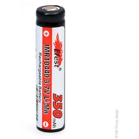 Lithium-Ion battery EFEST IMR10440 V1 (AAA) Li-Mn 3.7V 350mAh FT