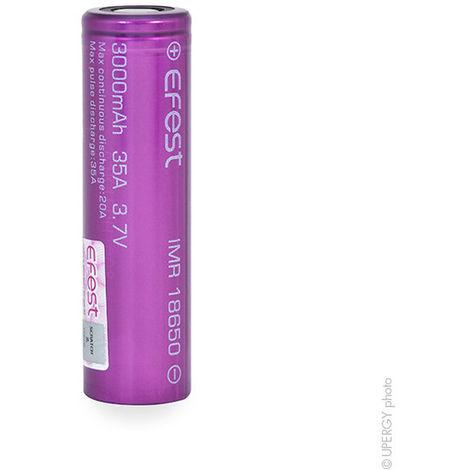 Lithium-Ion battery EFEST IMR18650 Li-Mn HD 3.7V 3Ah FT