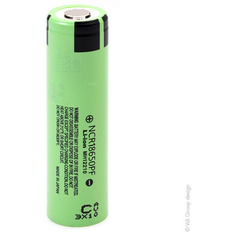 Lithium-Ion battery PANASONIC NCR18650PF 3.6V 2.9Ah FT