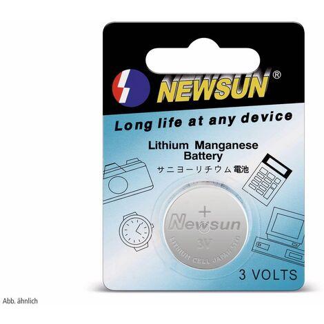 Lithium-Knopfzelle, CR2450, 5 Stück