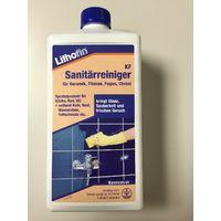Lithofin KF Sanitärreiniger 1L Keramik, Fliesen, Fugen, Chrom