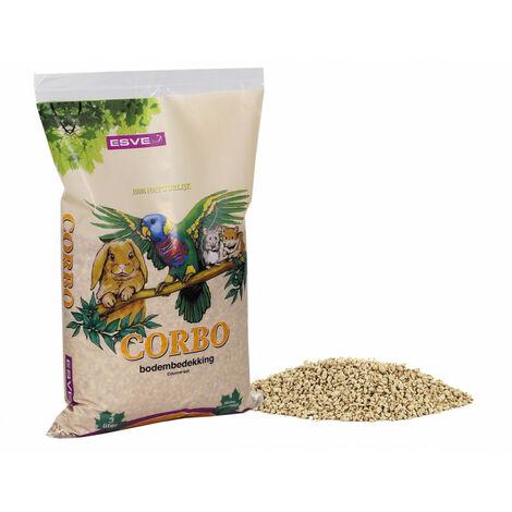 Litière a bases de maïs CORBO 3 litres - 1 kg
