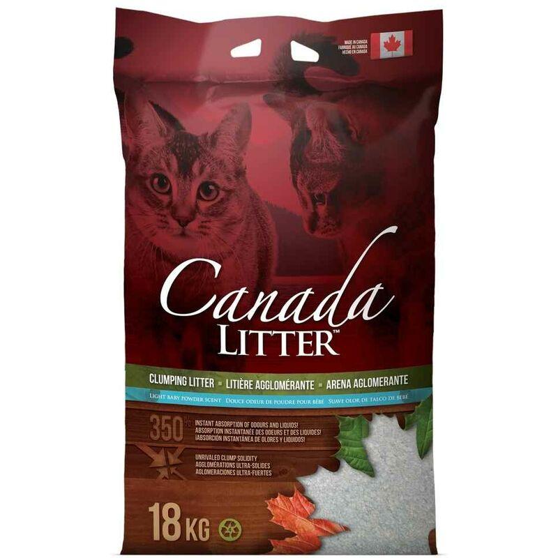 Litière Poudre de Bébé pour Chat - 18Kg - Canada Litter