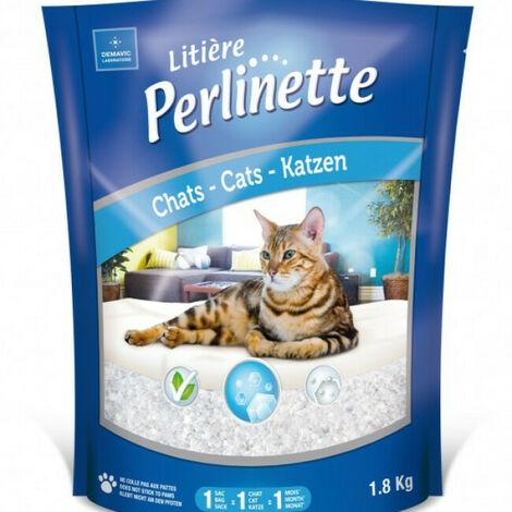 Litière Perlinette cristaux pour chat Sac 15 kg