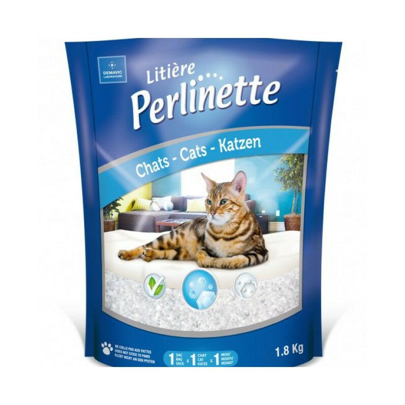 Litière cristaux pour chat Sac 15 kg - Perlinette