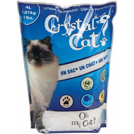Litière pour chats Crystal Cat 4 L