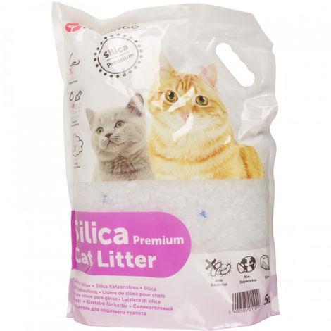 Litière pour chats Silica Premium Percato Contenance 10 litres