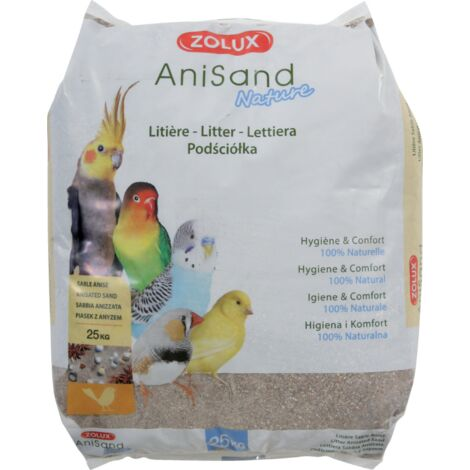 """main image of """"Litière sable Anisand nature 25 kg"""""""