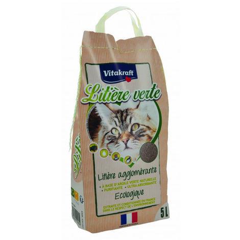 """main image of """"Litière verte minérale à l'argile Vitakraft 5 litres"""""""