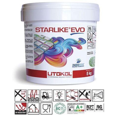 Litokol Starlike EVO Grigio Ardesia C.130 Mortier époxy - 2.5 kg