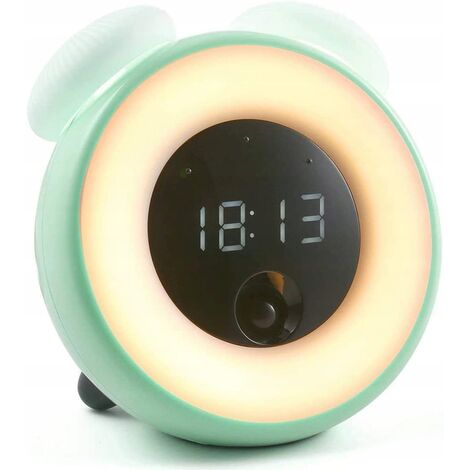 Little Alarm Clock Kids Bedroom LED Room Electronic Induction Small Alarm Clock