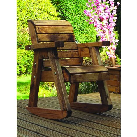 Little Fella's Chair Rocker, Children's wooden garden furniture, fully assembled