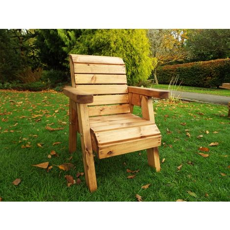 Little Fellas Chair, wooden garden furniture for children, fully assembled