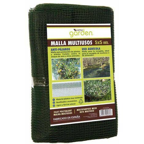 Little Garden Malla Verde Little Garden Multiusos (5 X 5 m)