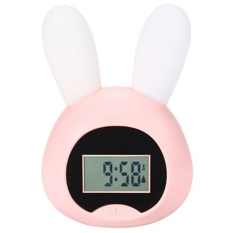 Little wake up light rabbit pink awakening light pink