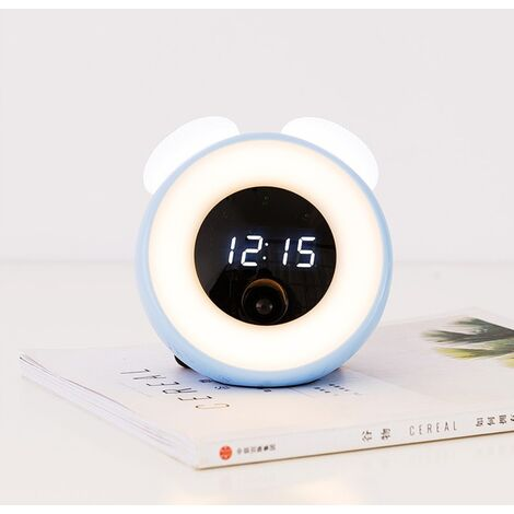 Little Wark Beauty Children Room Led Room Induction Small Blue Electronic Wake Up