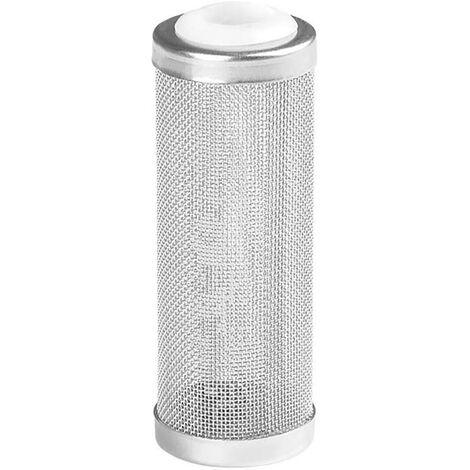 LITZEE Aquarium Mesh Net Filter Guard Manchon de Protection de réservoir en Acier Inoxydable Filtre en Acier Inoxydable