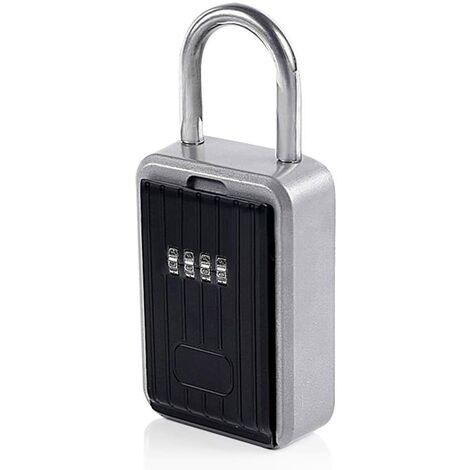 LITZEE Cadenas cache-clé - Combinaison à 10 chiffres - Pour extérieur, poignée de porte ou clôture