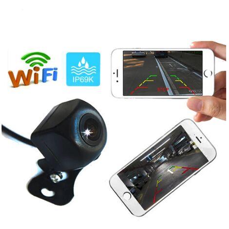 LITZEE caméra de recul de voiture sans fil caméra de recul WIFI caméra de tableau de bord HD Vision nocturne Mini tachygraphe du corps pour iPhone et Android