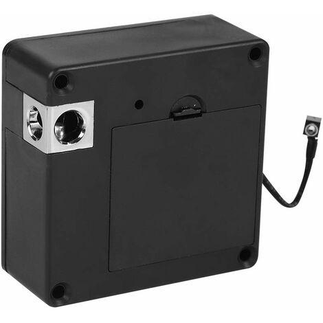 LITZEE Coffre-Fort électronique Lecteur invisible électronique de serrure intelligente de Cabinet de serrure intelligente de tiroir de pour le bureau à la maison