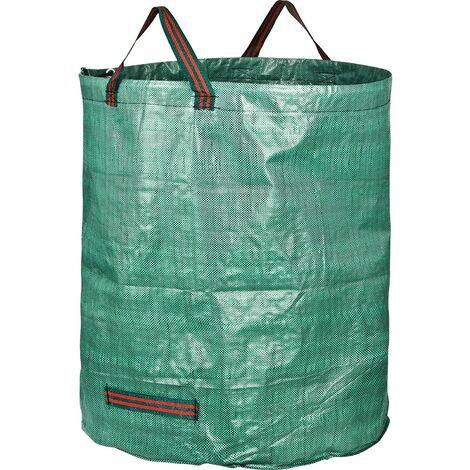 LITZEE GardenMate 1x sac de jardin 272l en tissu polypropylène robuste (PP)
