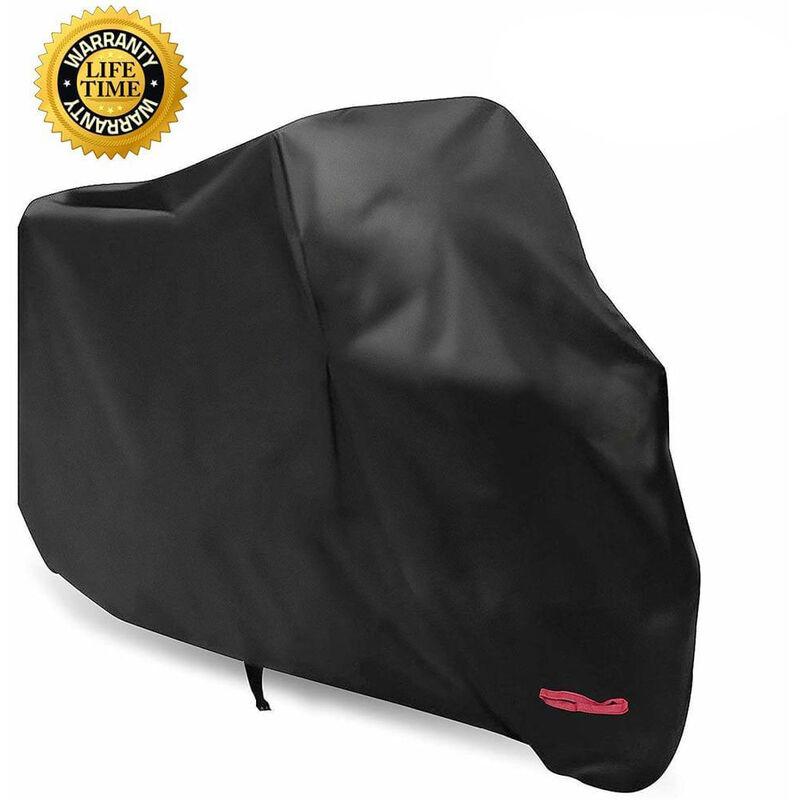 Housse de Protection pour Moto, Scooter et Moto - pour Harley-Davidson, Honda, Suzuki, Kawasaki - 2XL(265x105x125 cm) - Litzee