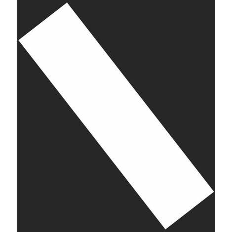 LITZEE Papel de lija para longboard - Multifunción - Transparente - Adhesivo grueso - Cinta de PVC antideslizante - Doble cker - Práctico - 126 x 26,5 cm