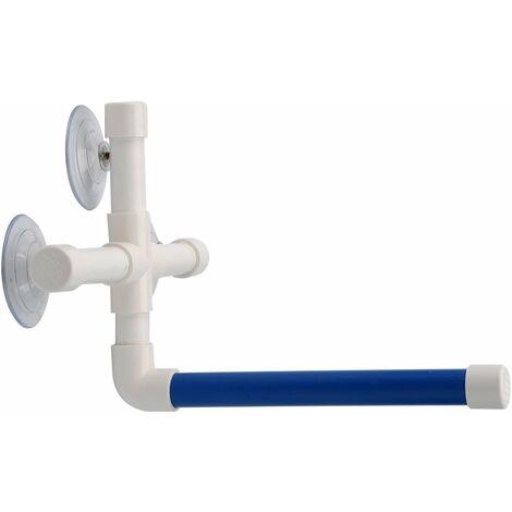 LITZEE Parrot Barras de baño Plataforma de ventosa, ventana de ducha, pájaro, juguetes de baño