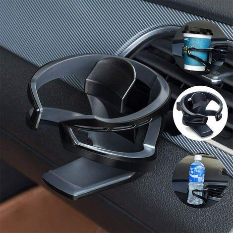LITZEE Porte-gobelet/bouteille amovible et universel avec support réglable pour grille d'aération de voiture