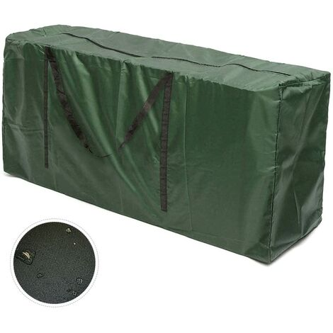 LITZEE Sac de transport pour coussins de jardin Coussins de meubles de jardin Sac de rangement pour coussins d'ameublement Coussins (122x55x39cm)