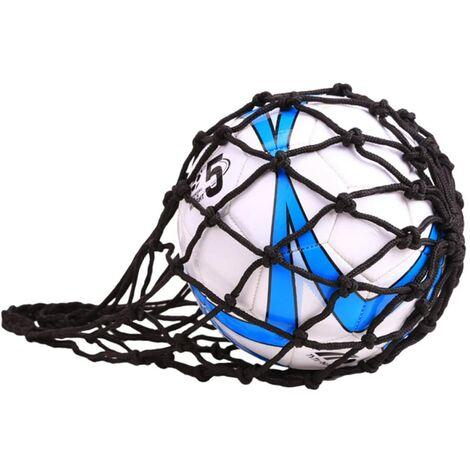 LITZEE Sac en Filet pour Ballon de Football, Rugby, Basket-Ball ou Volley-Ball Nylon Idéal pour Transporter Votre Ballon-A