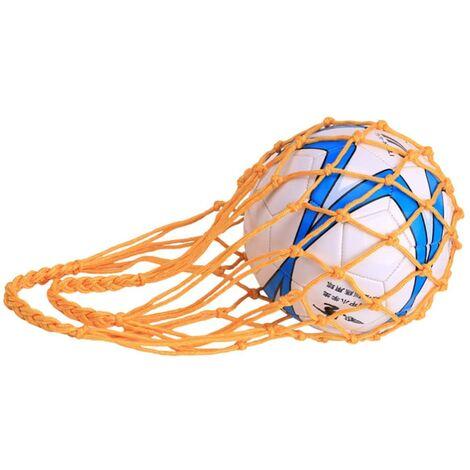 LITZEE Sac en Filet pour Ballon de Football, Rugby, Basket-Ball ou Volley-Ball Nylon Idéal pour Transporter Votre Ballon-B