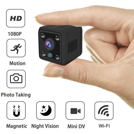 """main image of """"LITZEE Welcam Mini cámara, cámara oculta WiFi de 1080p con visión nocturna, cámara de vigilancia de seguridad para el hogar, pequeña cámara para bebés y detección de movimiento"""""""