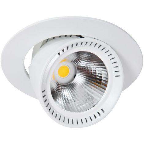 LIVAL inclinarse DL MINI 19MAB126 - Downlight LED de techo redonda giratoria